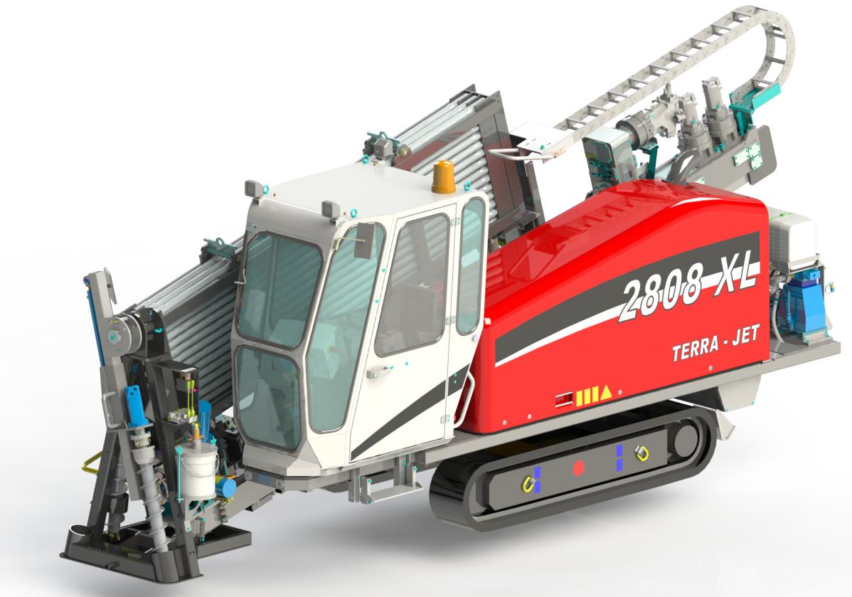 Mai multă putere în clasa 9 tone, cu TERRA-JET TJ 2808 XL