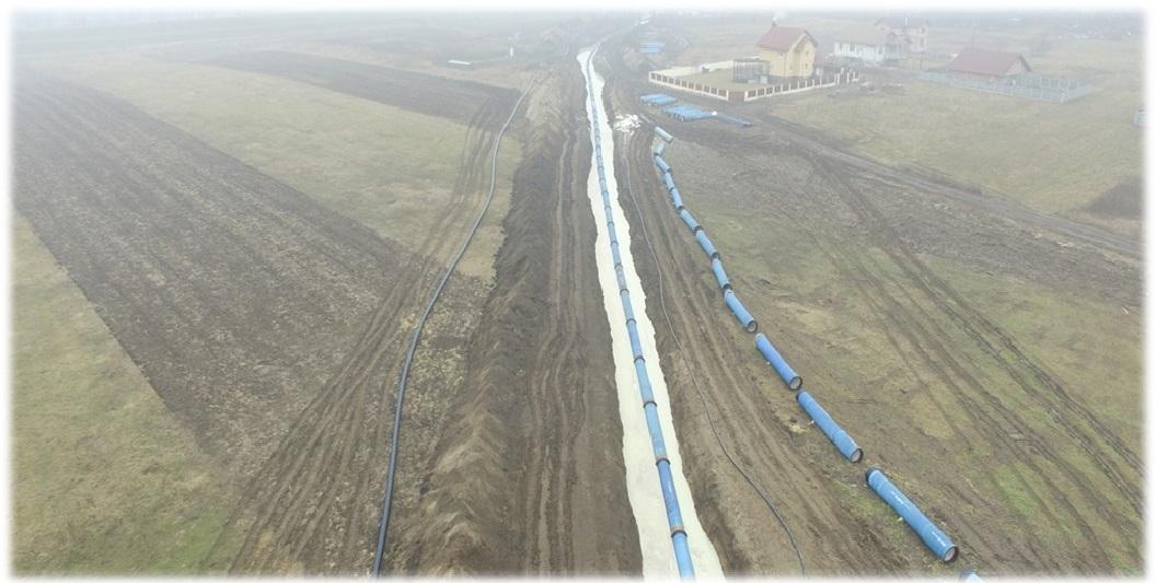 Tehnologia Herrenknecht aplicată cu succes în România – Subtraversarea râului Mureş DN 800 mm cu fontă ductilă zăvorâtă
