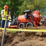 MV800 de la Ditch Witch® -Excavator cu vacuum pentru noroi ideal pe şantierele de forare orizontală dirijată (HDD)