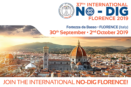 NO-DIG INTERNATIONAL 2019 FLORENCE, ITALY