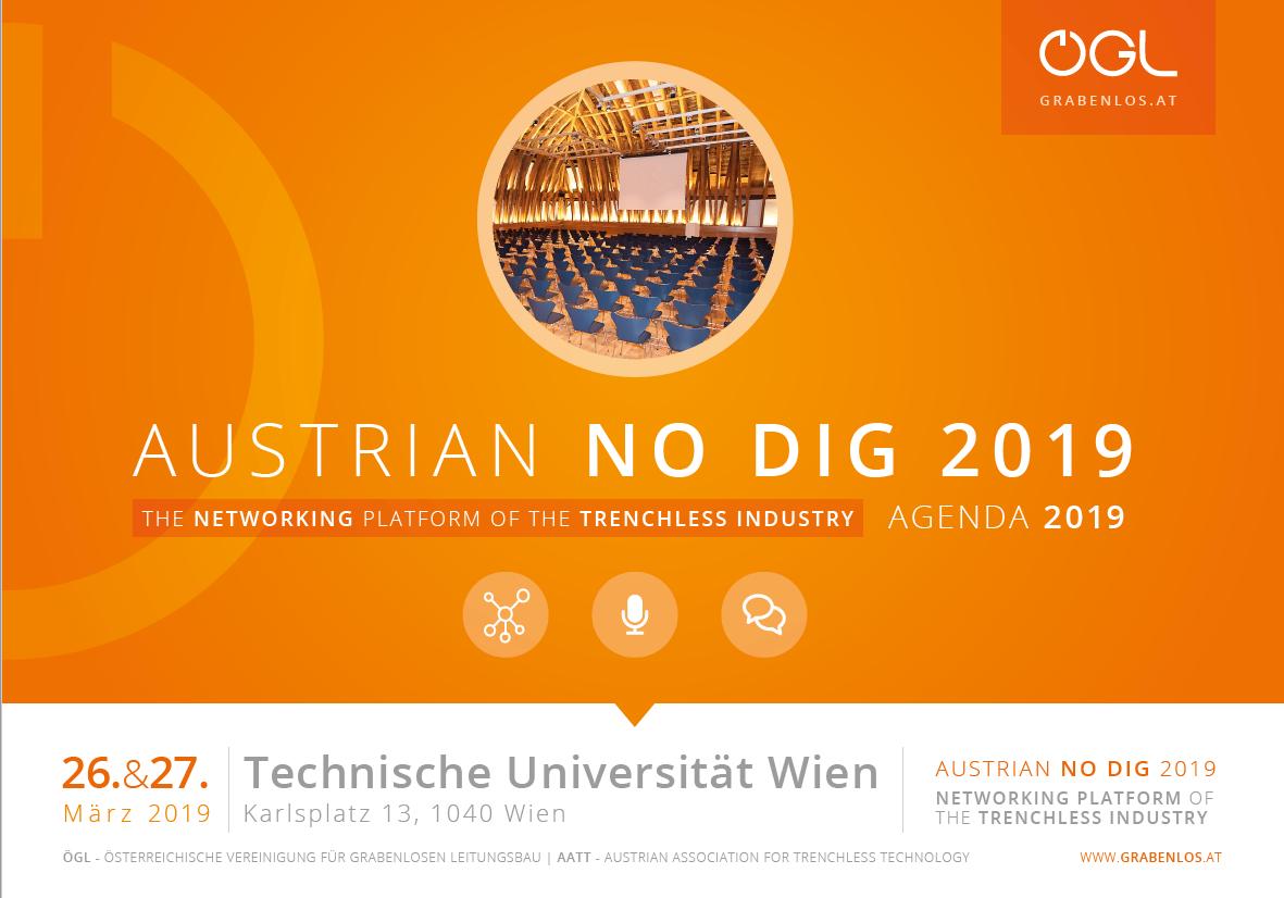 Austrian No Dig 2019     Grabenlos Symposium organised by AATT