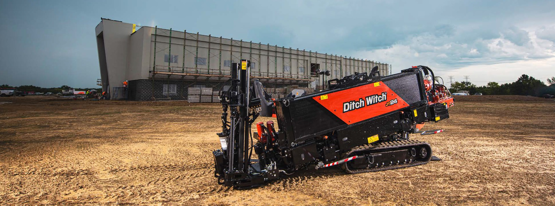 DEFIGO LTD a livrat Ditch Witch JT 24 în România